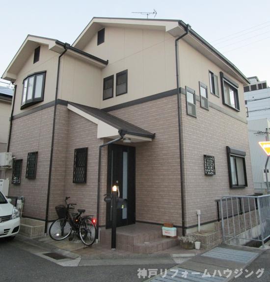 外壁 塗装 神戸 市 西区 外壁塗装(屋根・付帯部 含む) 神戸市各区の地域密着業者...